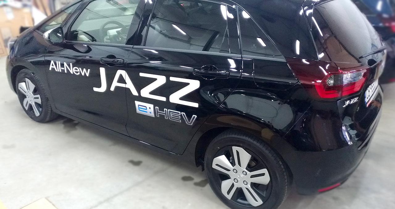 рандиране на Джаз с плотерно и print&cut фолио